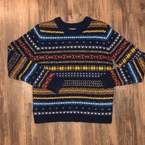 Treasure & Bond Patterned Sweater Size XS EUC